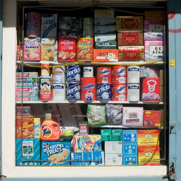 Chinatown Store Window
