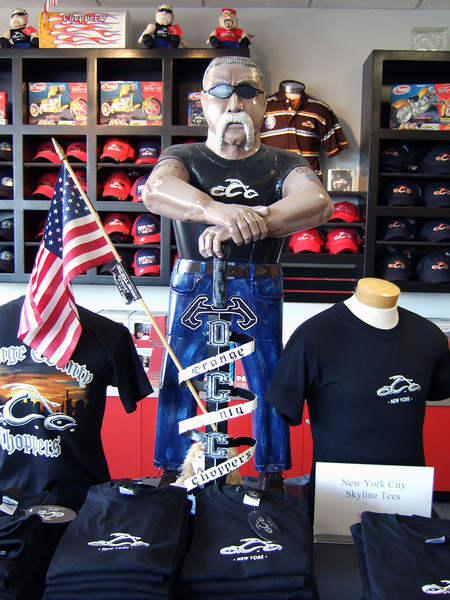 New York:  Orange County Choppers, July 2007
