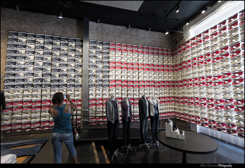 Converse Store in SoHo