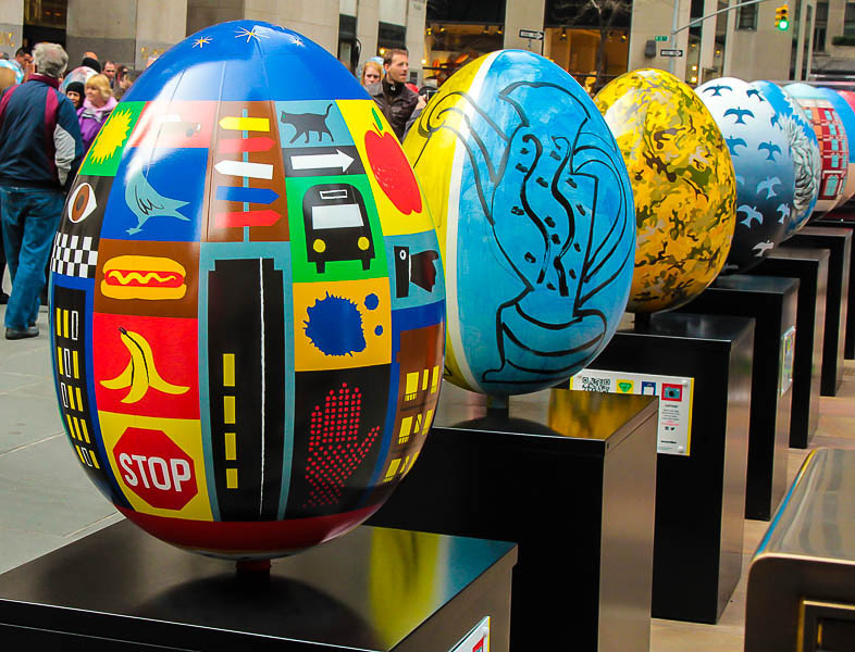 Easter Eggs @ Rockefeller Center.