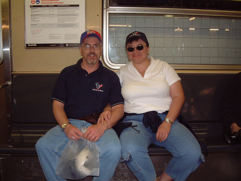 NYC Subway - New York City, NY<br /> Rick & Yolanda