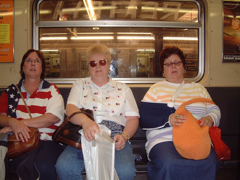 NYC Subway - New York City, NY<br /> Laurie, Pam & Lana