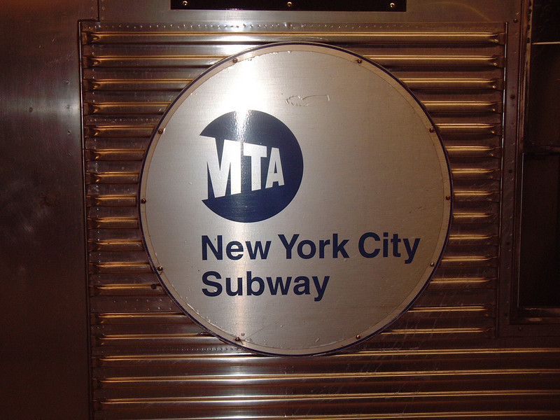 NYC Subway logo - New York City, NY
