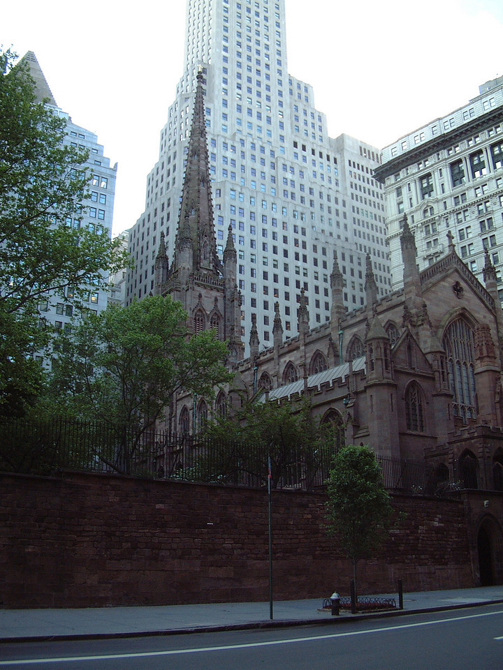 "Trinity Church - New York City, NY - Near World Trade Center Site [ <a href=""http://www.trinitywallstreet.org/history/"">http://www.trinitywallstreet.org/history/</a> ]"