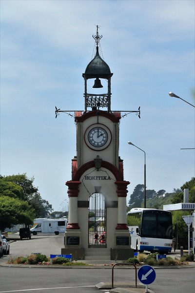 The center of Hokitika.