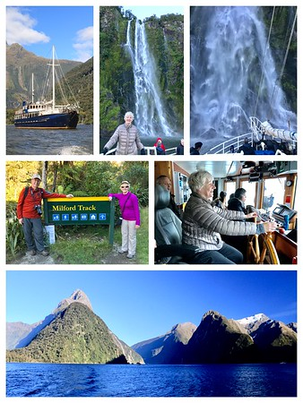 A beautiful overnight cruise including a short walk on the famous Milford Track...the waterfalls were spectacular.