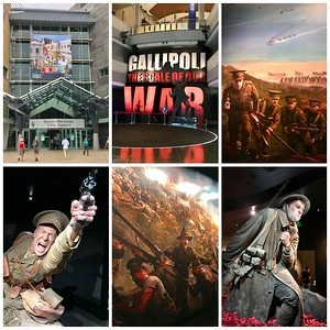 The Te Papa National Museum of New Zealand houses a moving exhibit memorializing the fighting of the ANZAC troops at Gallipoli during WWII.  It was designed by Peter Jackson (of Lord of the Rings fame) and features huge lifelike statues of actual soldiers who fought and died there.  This was the best exhibit in the museum.