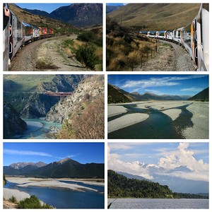An amazing day...we took the TranzAlpine train to the west coast. Over spectacular gorges and bridges, past beautiful rivers and lakes and snow capped mountains