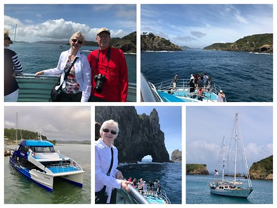 A beautiful day touring the Bay of Islands