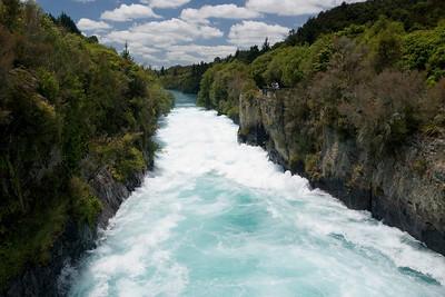 Huka Falls, Lake Taupo - December 14th
