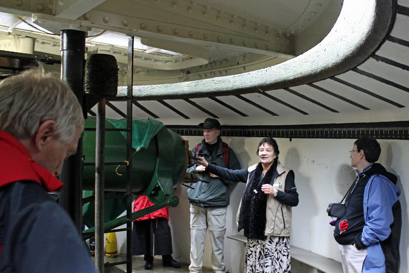 Day 3: Monday, 30 August 2010 - Armstrong Disappearing Gun.