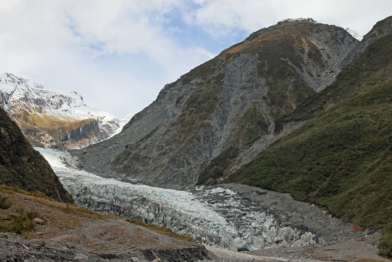 Day 4: Tuesday, 31 August 2010 - the Fox Glacier stood still long enough for me to take this photo.