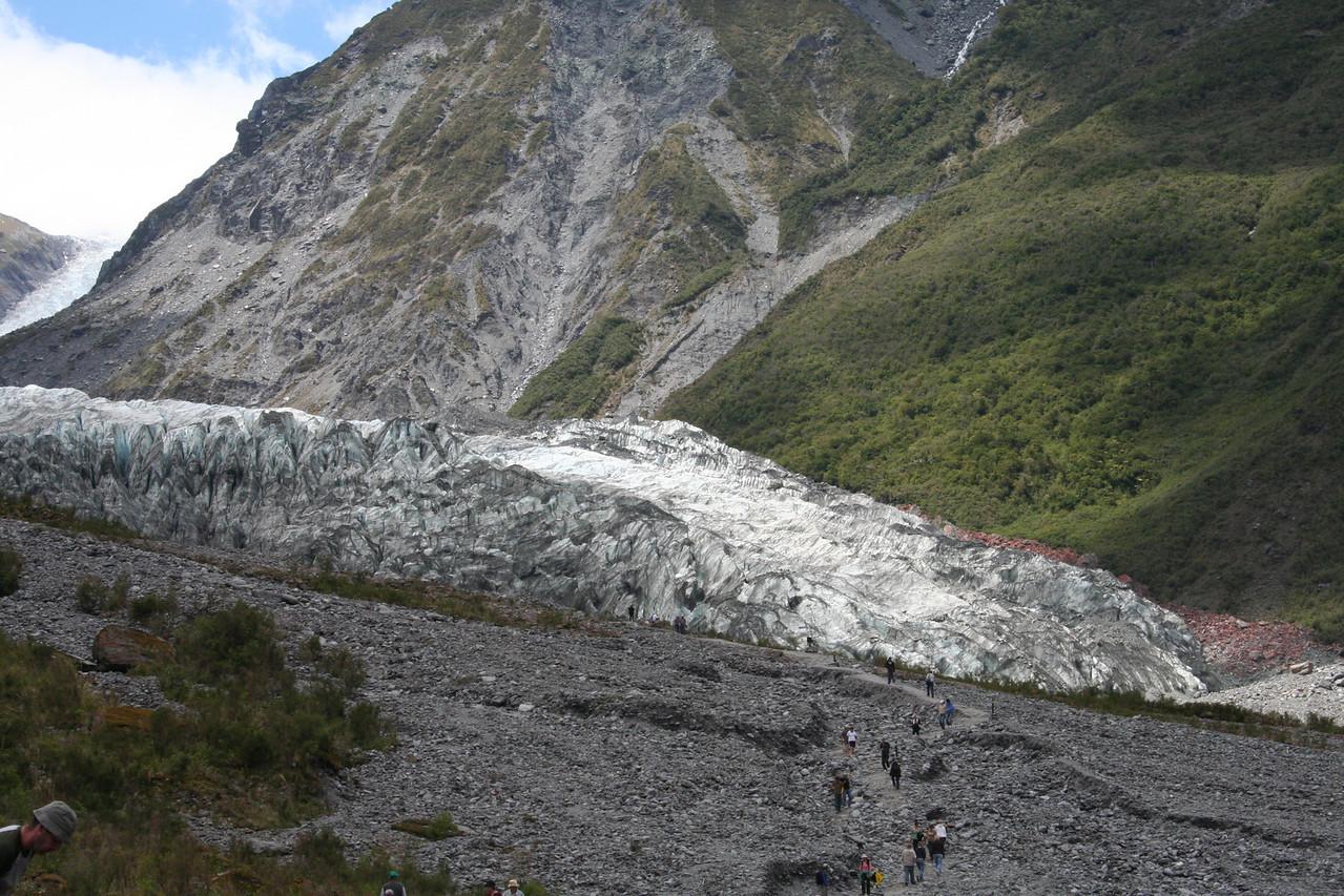 Fox Glacier.