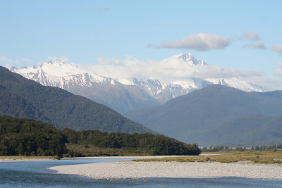 The Haast River.