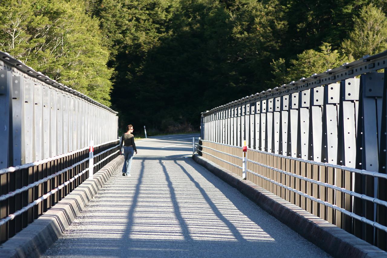 Haast River Pleasant Flat Bridge.