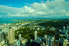 A view from the Auckland Sky Tower