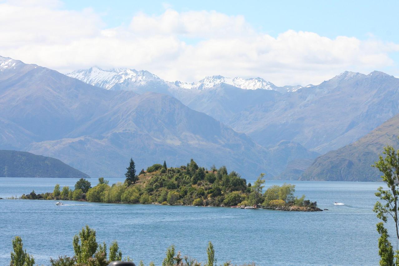 Lake Wanaka on a beautiful New Years Eve day.
