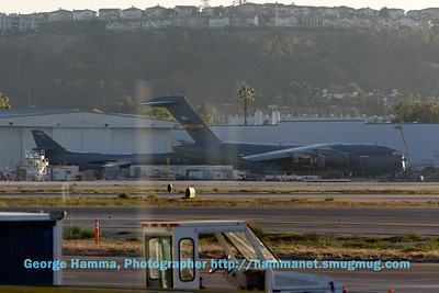 The airport at Long Beach, CA is also the home of  Douglas Aircraft (Boeing) where the C-17 is being manufactured.