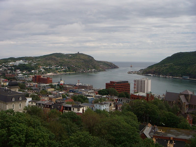 St. John's from the Rooms