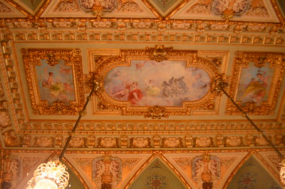 Dinning room ceiling.