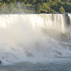 Sun setting on the American Falls<br /> Niagara Falls, Ontario, Canada<br /> August 22, 2016