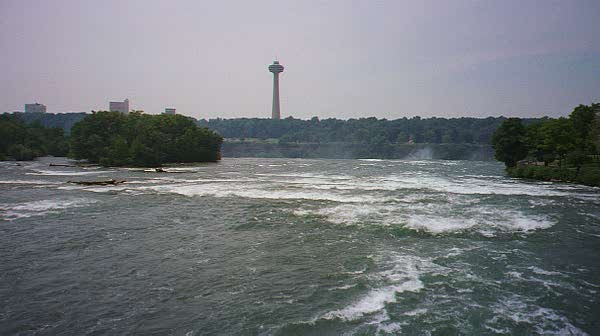 We first arrived at Niagra from the US side.
