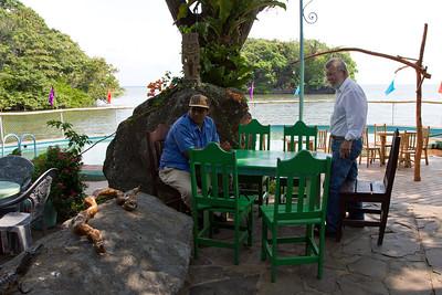 Restaurant, Lake Nicaragua