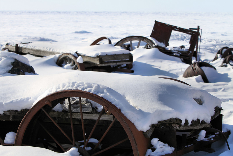 Where old mining equipment goes to die