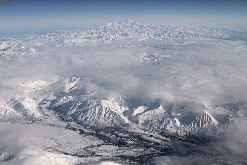 Mt. Foraker and Mt. McKinley