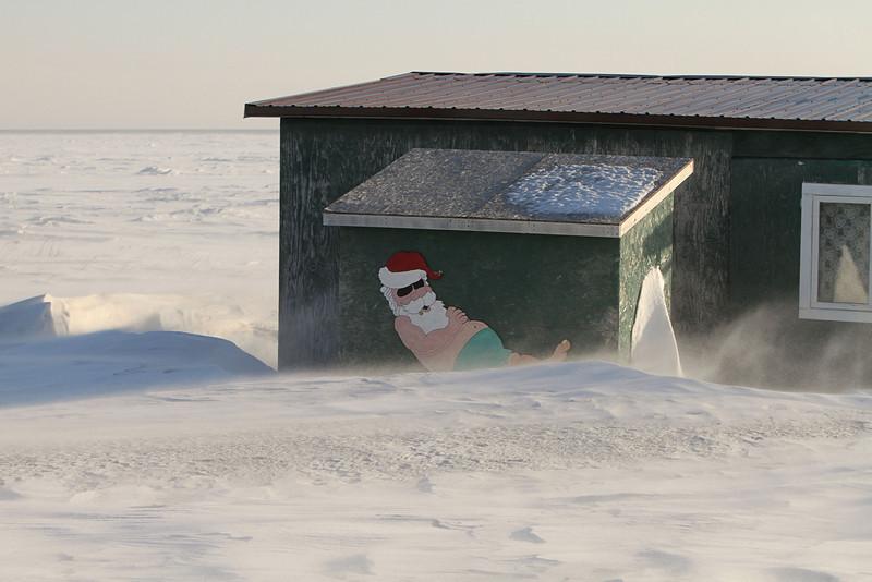 Santa Claus dreams
