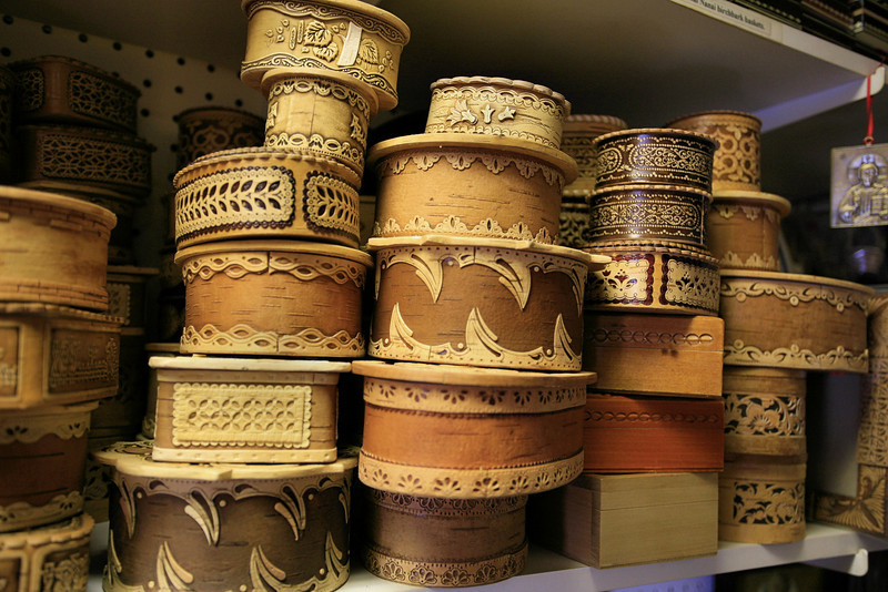 Birch baskets from Siberia