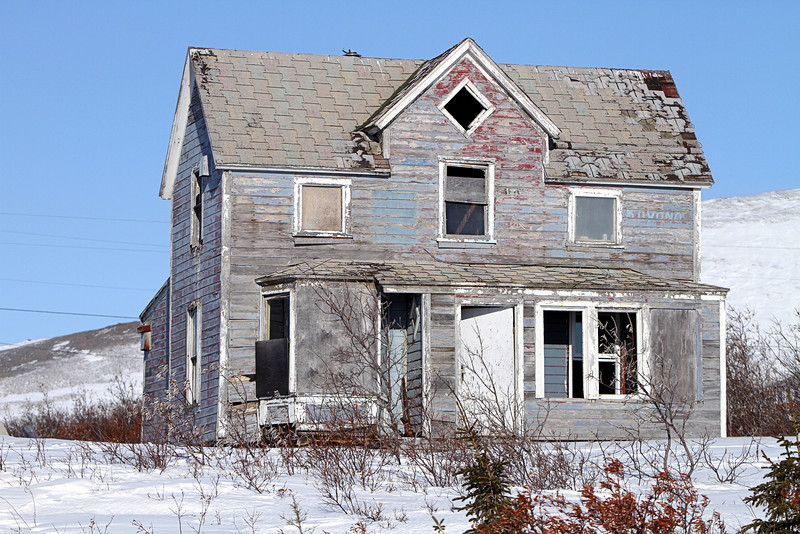 What was once a fine home