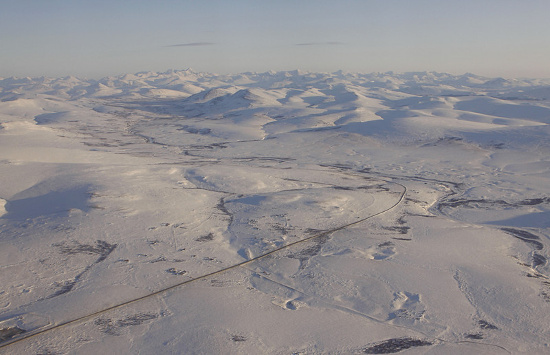Leaving Nome