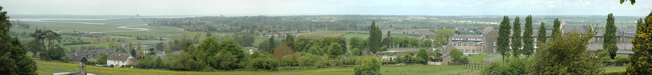 Avranches - Panorama from Le-Jardin-des-Plantes