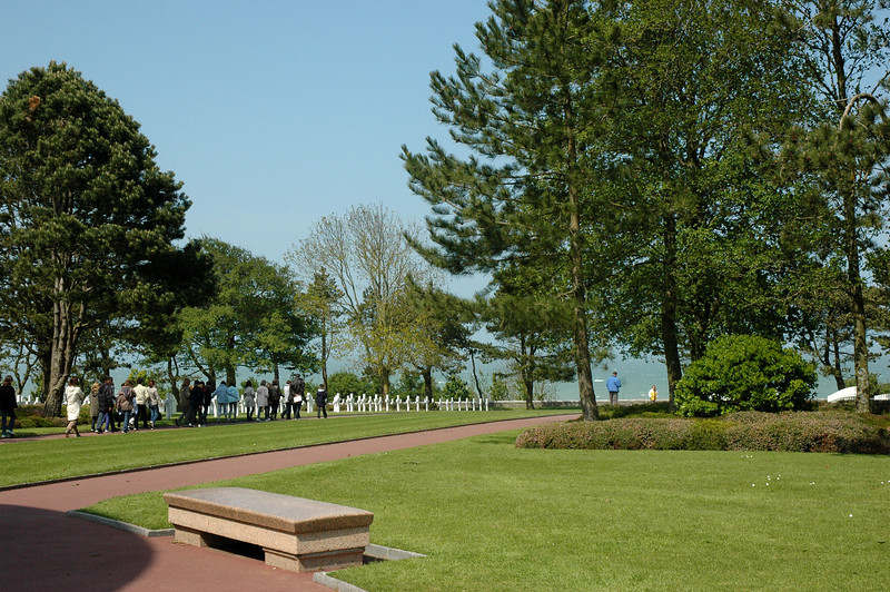 Normandy American Cemetery 2009 - Pilgrims