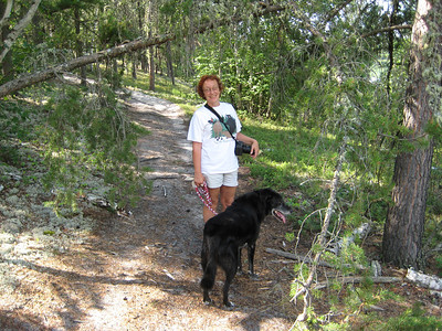 Lynne and Ranger leading the way