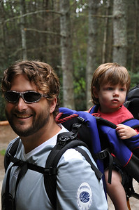 Ready for our 1st hike.