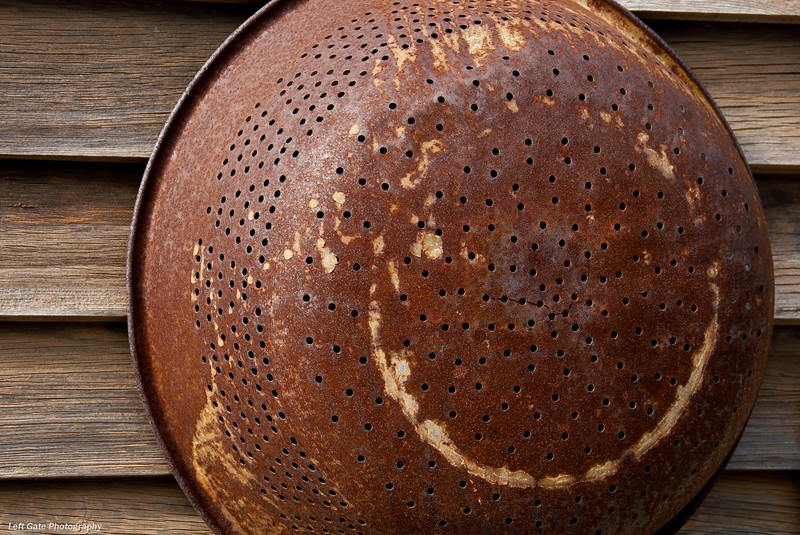 Rusted Colander