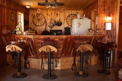 Pull up a saddle and rest a while at North Mountain Outfitter's Lodge!