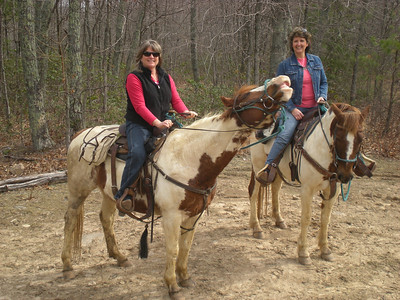 Love my horseback adventure with my girlfriend from 6th grade!