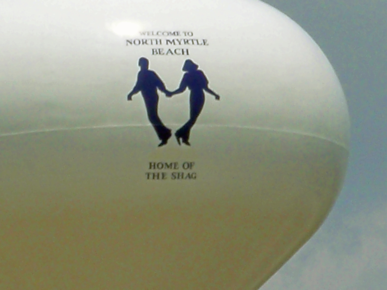 Is it really appropriate to put a couple shagging on the water tower?