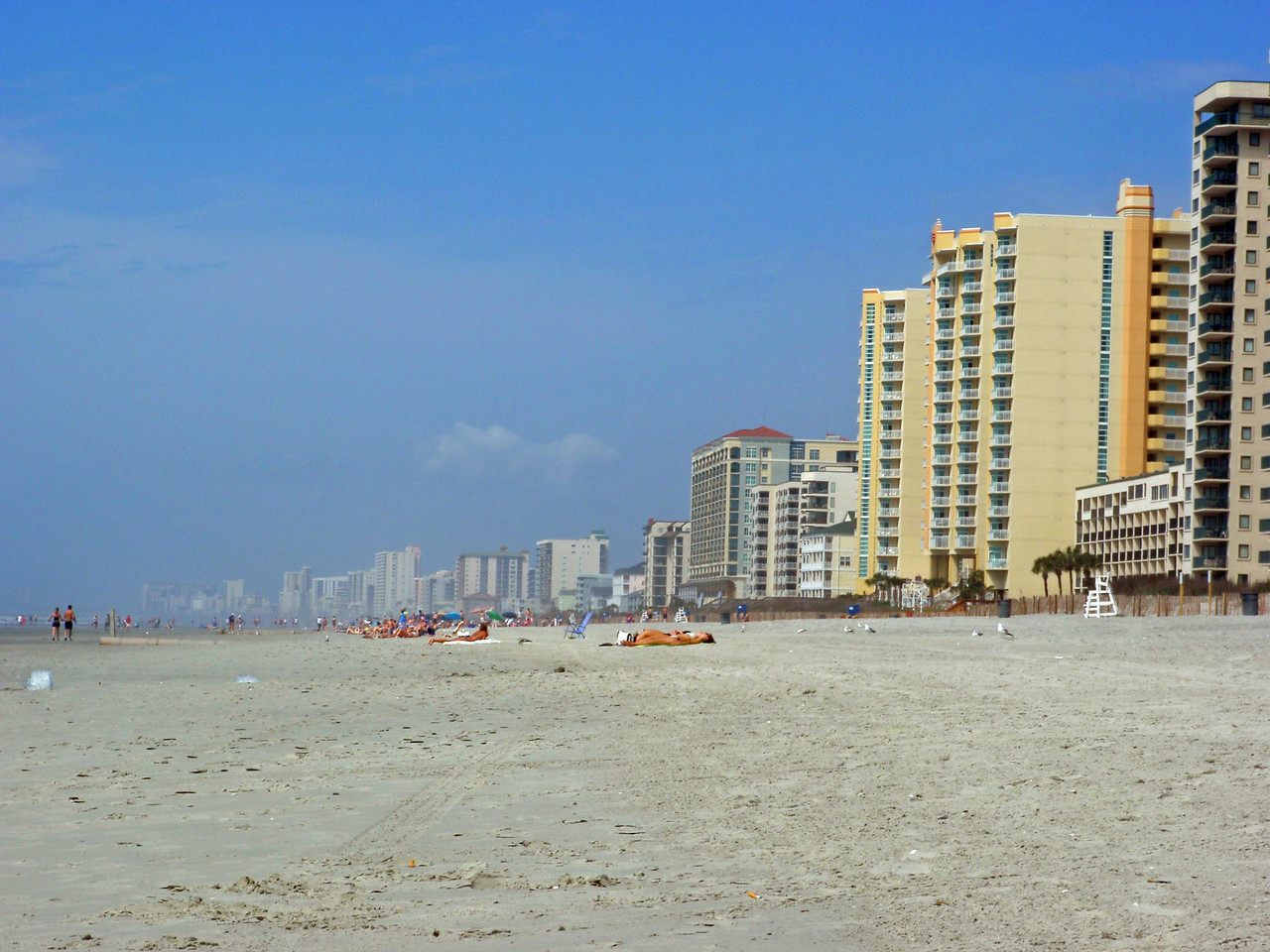 Lots of condos here in North Myrtle