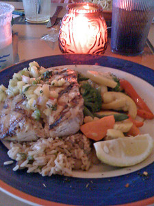 Mahi mahi from Margaritaville.