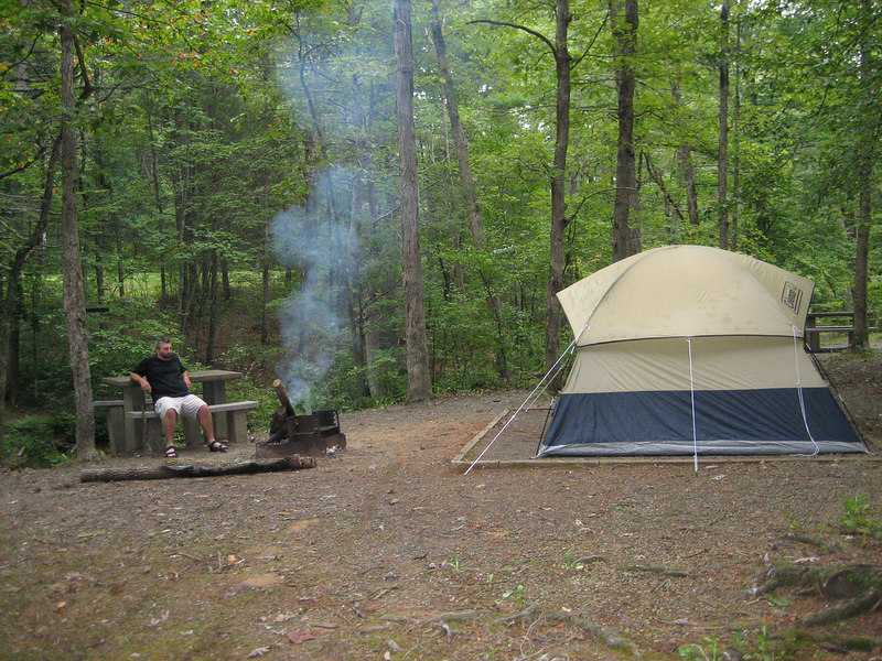 Otter Creek Campground, BRP MM 60, VA