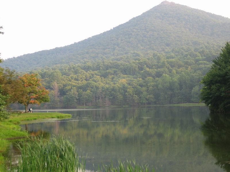 Abbott Lake (Peaks of Otter), BRP MM 86, VA