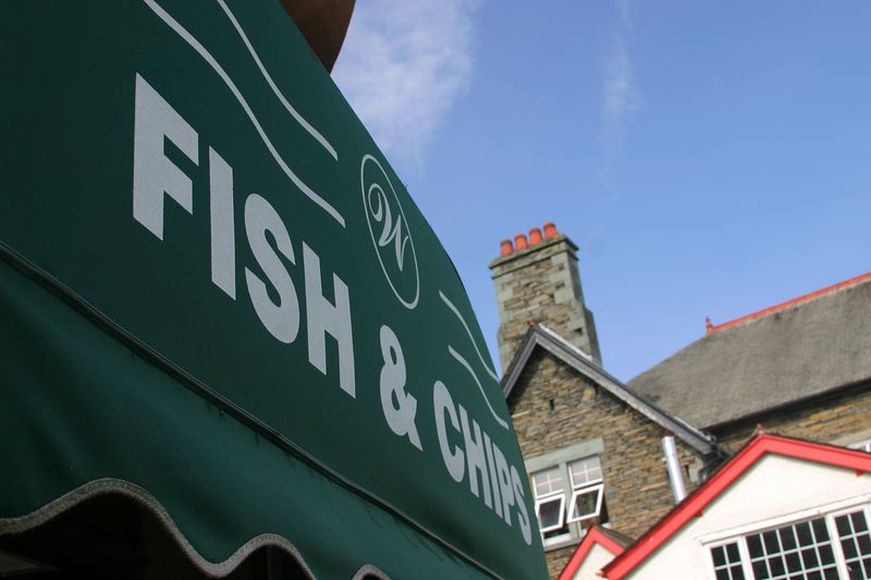 The land of fish & chips