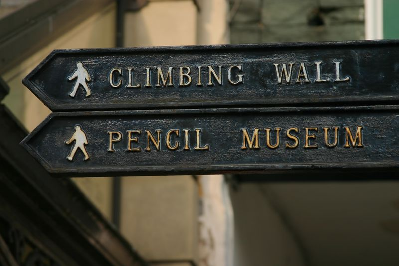 We didn't have time to check out the pencil museum