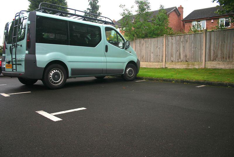 Strange looking van