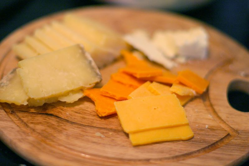 Red Leicester, Chester, and other cheeses