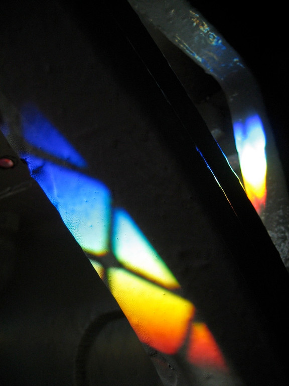 Light through the prism